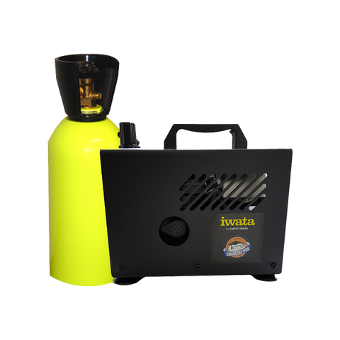 Airbrush Compressors and CO2 Tanks