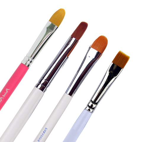 Flower & Chisel Brushes