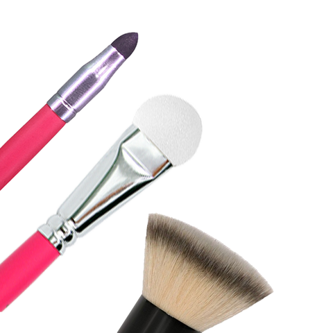 Kabuki and Sponge Brushes
