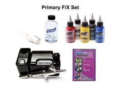 20045FX BLACK Walk-Around™ Graftobian Airbrush System with F/X AIRE™ Package - Silly Farm Supplies