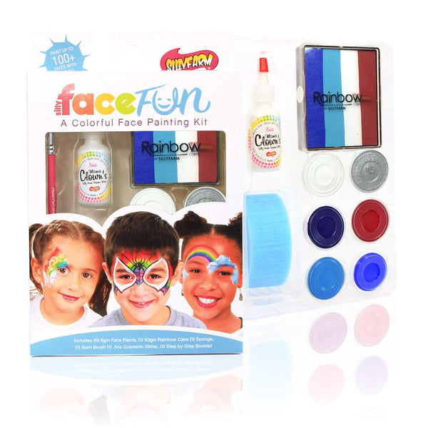 4th of July Silly Face Fun Rainbow Kit