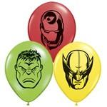 "5"" Avengers Assemble Assortment Qualatex Balloons 100pk - Silly Farm Supplies"