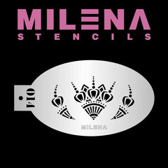 Accents O14 Milena Stencil - Silly Farm Supplies
