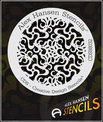 Alex Hansen Stencil 88032 - Silly Farm Supplies