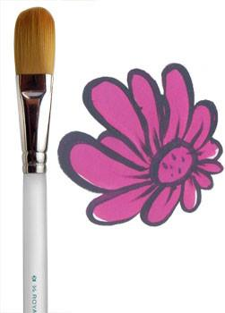 "Aqualon 3/4"" Body Filbert Brush (2950)"