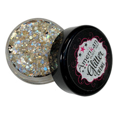 Asteroid Glitter Creme 10g Jar by Amerikan Body Art - Silly Farm Supplies