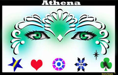Athena Frozen Stencil Eyes Stencil - Silly Farm Supplies