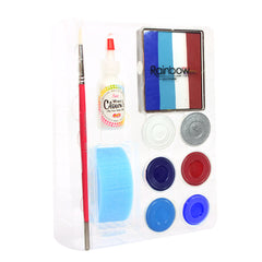 4th of July Silly Face Fun Rainbow Kit- BUY ONE GET ONE FREE!