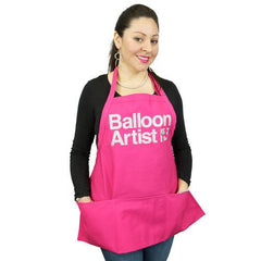 Balloon Artist Pink with Silver Apron - Silly Farm Supplies