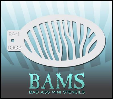 BAM1003 Bad Ass Mini Stencil