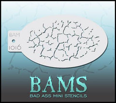 BAM1016 Bad Ass Mini Stencil - Silly Farm Supplies