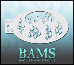 BAM1019 Bad Ass Mini Stencil - Silly Farm Supplies