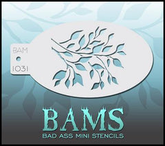BAM1031 Bad Ass Mini Stencil - Silly Farm Supplies