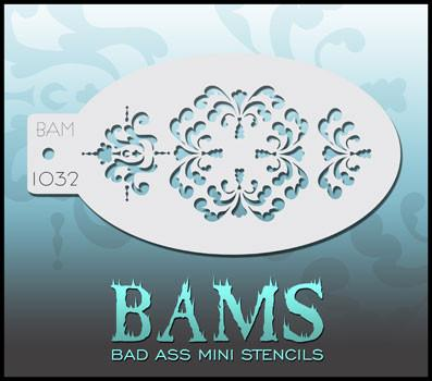 BAM1032 Bad Ass Mini Stencil