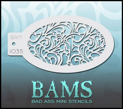 BAM1035 Bad Ass Mini Stencil