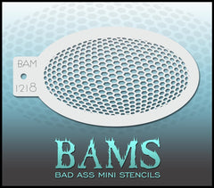 BAM1218 Bad Ass Mini Stencil - Silly Farm Supplies