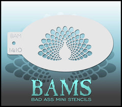 BAM1410 Bad Ass Mini Stencil - Silly Farm Supplies