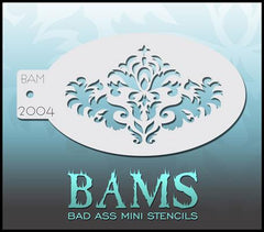 BAM2004 Bad Ass Mini Stencil - Silly Farm Supplies