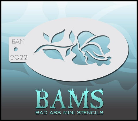 BAM2022 Bad Ass Mini Stencil