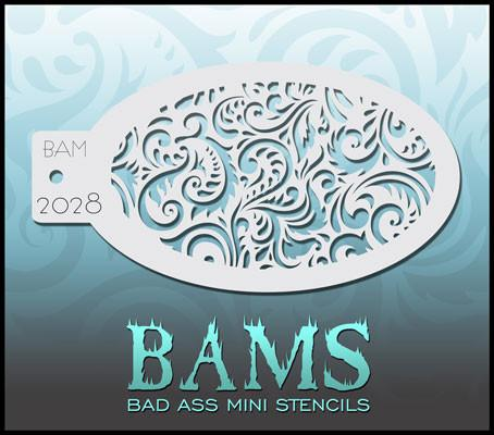 BAM2028 Bad Ass Mini Stencil