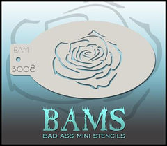 BAM3008 Bad Ass Mini Stencil - Silly Farm Supplies