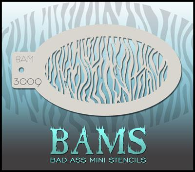 BAM3009 Bad Ass Mini Stencil