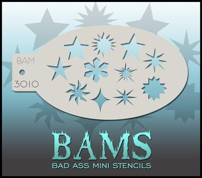 BAM3010 Bad Ass Mini Stencil