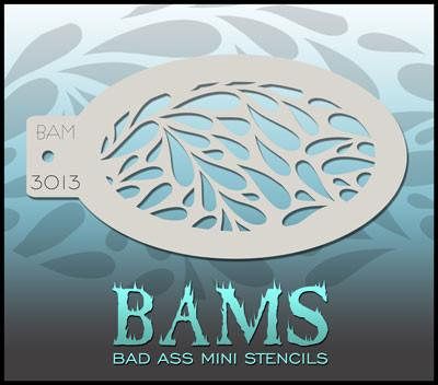BAM3013 Bad Ass Mini Stencil
