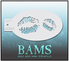 BAM4002 Bad Ass Mini Stencil - Silly Farm Supplies