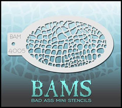 BAM4005 Bad Ass Mini Stencil - Silly Farm Supplies
