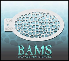BAM4012 Bad Ass Mini Stencil - Silly Farm Supplies