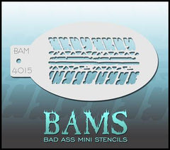 BAM4015 Bad Ass Mini Stencil Tire - Silly Farm Supplies