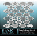 BAMS PRO Set 3 - 25 unique designs