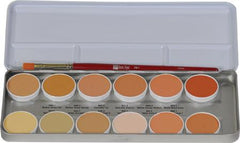 Ben Nye 12-Color Concealer Palette (NKP-12) - Silly Farm Supplies