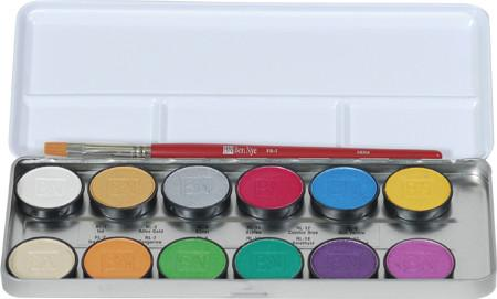 Ben Nye 12-Color Lumiere Grande Colour Palette (LUK-12)