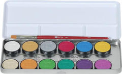 Ben Nye 12-Color Lumiere Grande Colour Palette (LUK-12) - Silly Farm Supplies