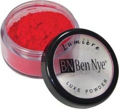 Ben Nye Luxe Powder Cherry Red (LX-155) - Silly Farm Supplies