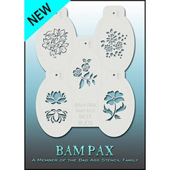 Best Buds BAM PAX 3019 Stencil Set - Silly Farm Supplies