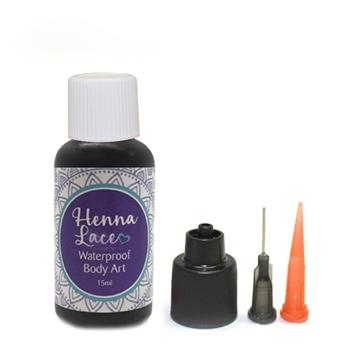 Black Henna Lace- .5oz bottle with tip
