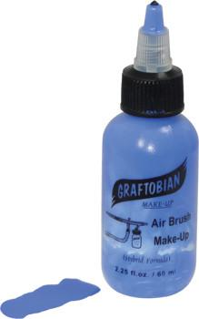 Blue Graftobian F/X AIRE Airbrush Make Up 2.25oz