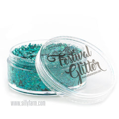 BLUE LAGOON Festival Glitter 50ml (1 fl oz) - Silly Farm Supplies