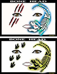 Bone Head Stencil Eyes Stencil - Silly Farm Supplies