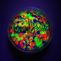 Candy Cosmo UV Loose Glitter Jar 7.5g by Vivid Glitter - Silly Farm Supplies