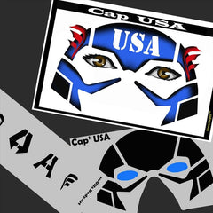 CAP USA Stencil Eyes Stencil (SE09) - Silly Farm Supplies
