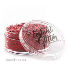 CHERRY BOMB Festival Glitter 50ml (1 fl oz) - Silly Farm Supplies
