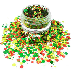 Christmas Miracle Loose Glitter Jar 7.5g by Vivid Glitter - Silly Farm Supplies