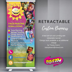 Custom 7ft Retractable Banner - Silly Farm Supplies