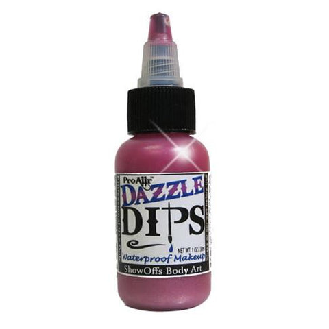 DAZZLE Dips Pink 1oz Waterproof Face Paint