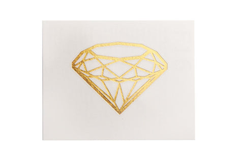 Diamond Shine Small Metallic Tattoo 5 Pack