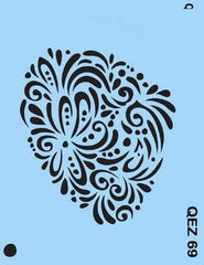 Doily QuickEZ Stencil - Silly Farm Supplies